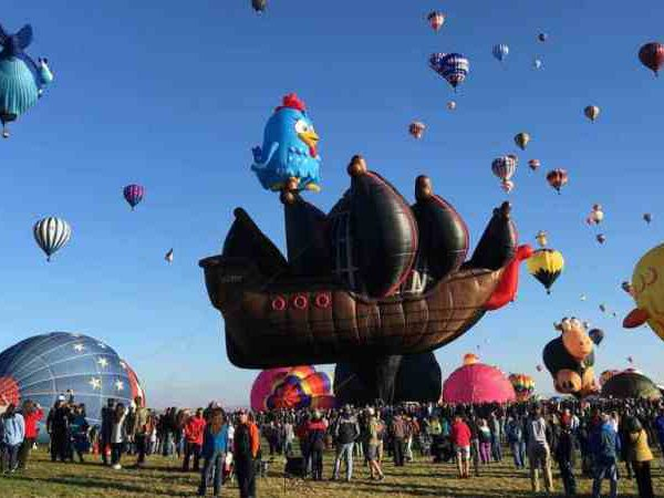First Trip With Baby: The Balloon Fiesta